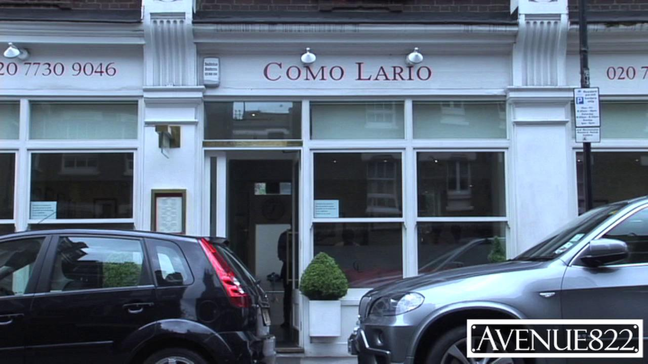 Como Lario 1 Como Lario is a favourite with Chelsea and Belgravia residents. The restaurant is well known for its warm and friendly staff, relaxed atmosphere and comfortable surroundings. Lunch is a speciality where there is usually a jolly crowd of people. Great for people watching!