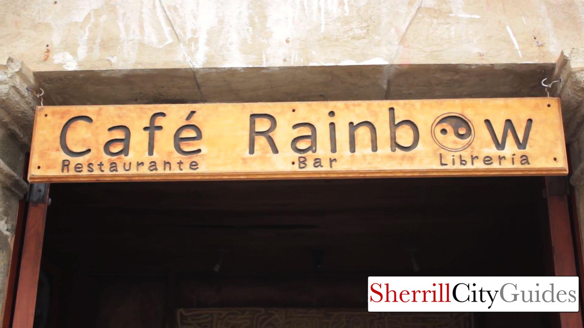 Rainbow Cafe Antiqua, Guatemala