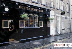 Thistle Street Bar Edinburgh, Scotland