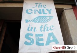 The only fish in the sea-Barcelona Spain