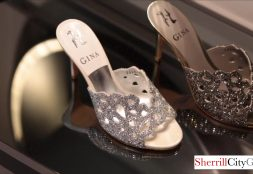 Gina Shoes 4 More than just footwear, Gina Shoes are jewels for your feet. Crafting conspicuously decadent shoes since 1954, GINA is renowned internationally for its exceptional sculptured footwear and handbags – remaining the last and only British designer label producing luxury footwear in London today.