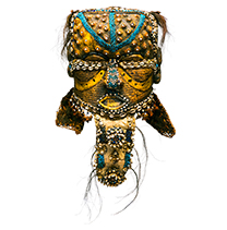Hemingway African Gallery gold mask