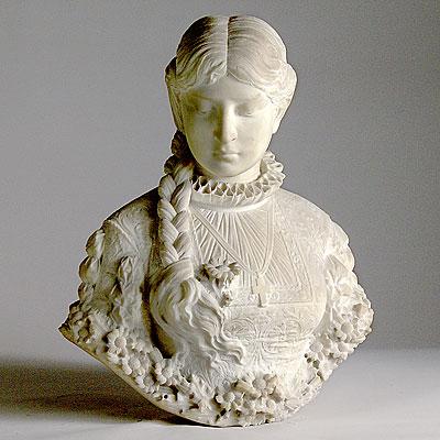 Linda Horn Marble Bust