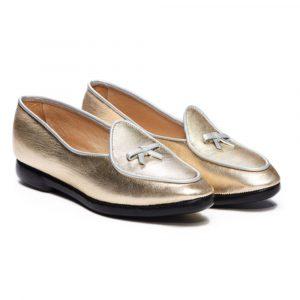 Belgian Shoes Metallics