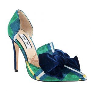 Lucy Choi Shoe Margaret Green Velvet