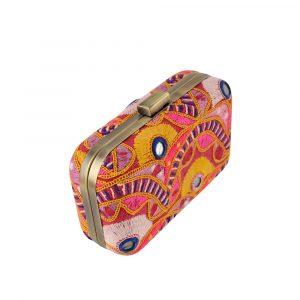 Amrapali Tribe Vintage Fabric Clutch