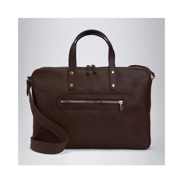 Bill Amberg Studio Hunter Briefcase Brown