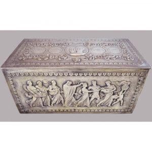 Blum Antiques American Silver Presentation Document Box