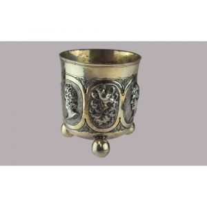 Blum Antiques Medallion Nuremberg Beaker