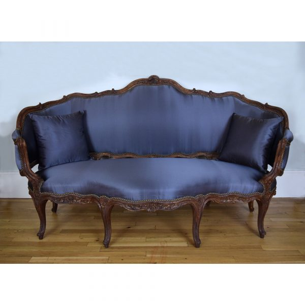 Bofferding French 18th Century Louis XV Sofa, Circa 1760