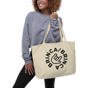 Brinca/brinca Large Organic Tote Bag