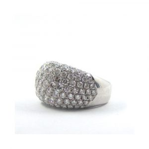McKenna & Co. Diamond Bomb Cluster Ring