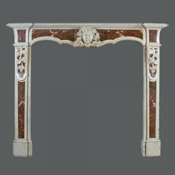 Nicholas Gifford-Mead An 18thc Italian Marble Chimney Piece