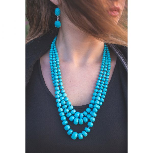 Platimiro Fiorenza Turquoise Necklace