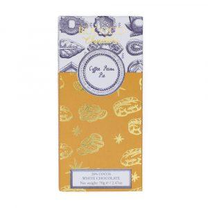 Rococo Chocolates White Chocolate Coffee Pecan Pie Artisan Bar