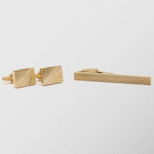 Stefano Mario Tie Clip / Cufflinks