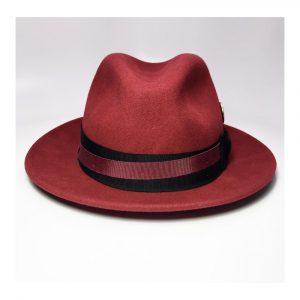 The Flamekeepers Hat Club Crimson Tide Fedora