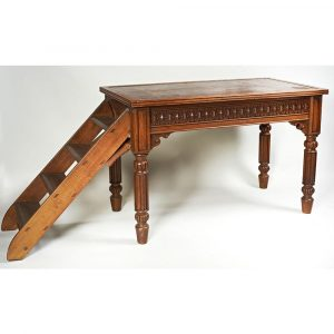 Westenholz Antiques Victorian Oak Metamorphic Library Table
