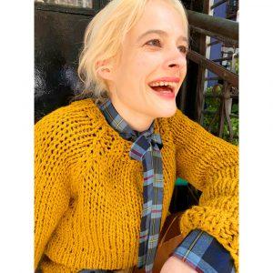 Elliot Mann Moss Sweater