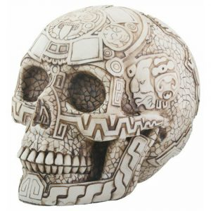 Evolution Aztec Skull