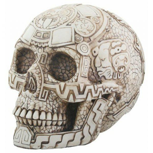 Evolution Aztec Skull