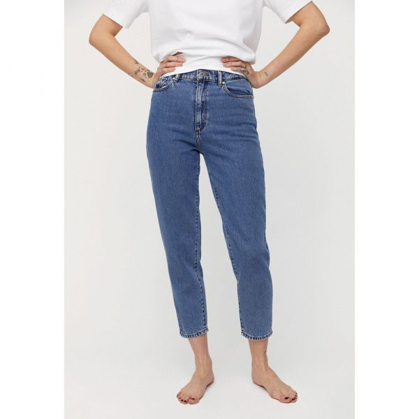 Iki M. Armdeangles Mairaa Mom Fit Mid Blue