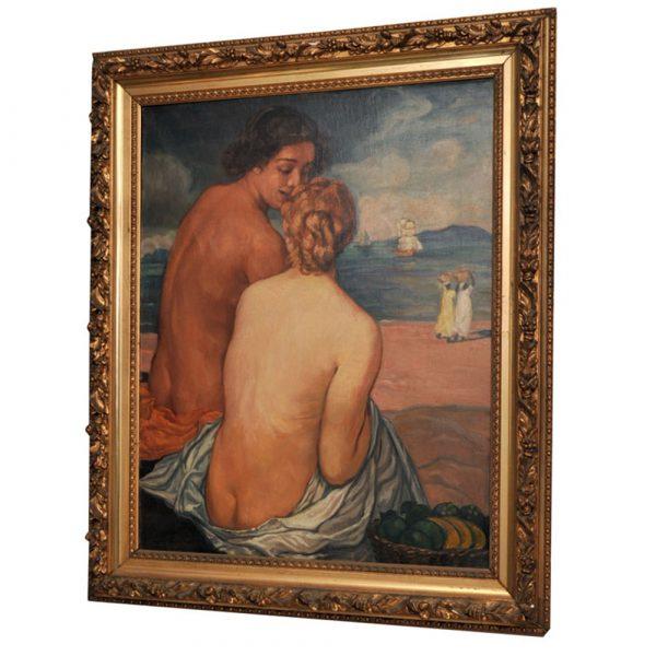Paul Stamati Gallery Emile Bernard Post-Impressionist Oil On Canvas