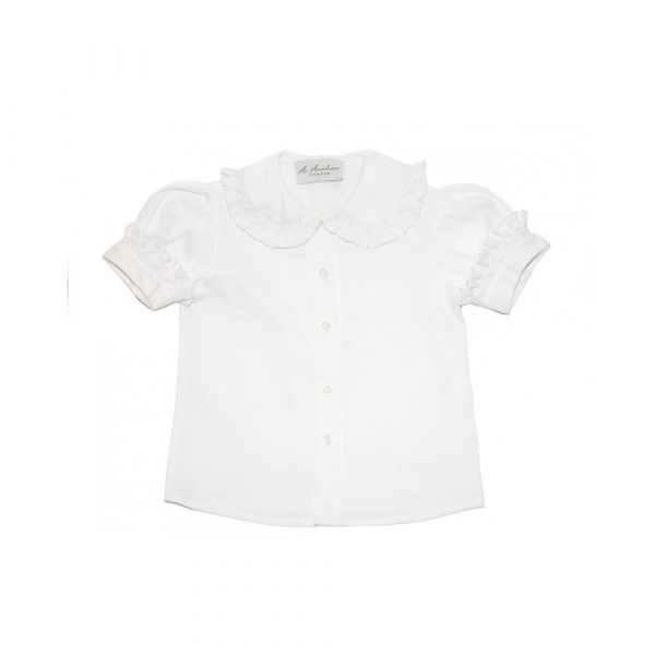 Anichini Smocked Shirt 5