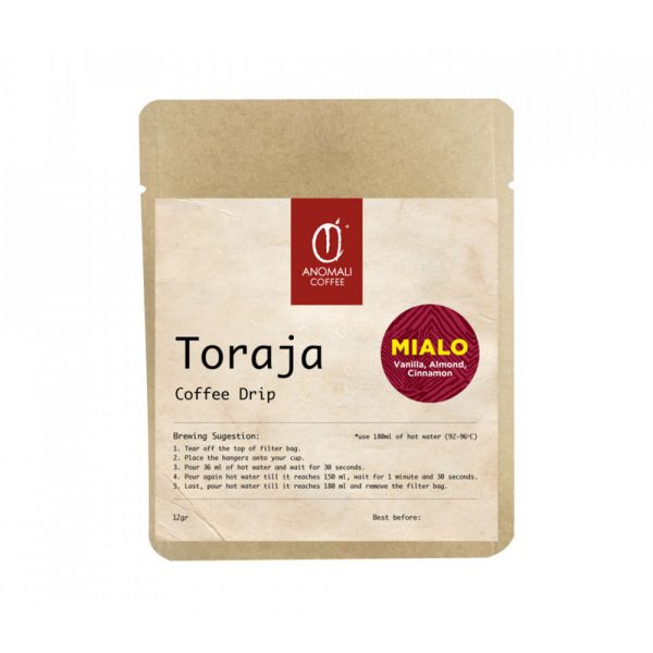 Anomali Coffee Coffee Drip - Toraja Mialo