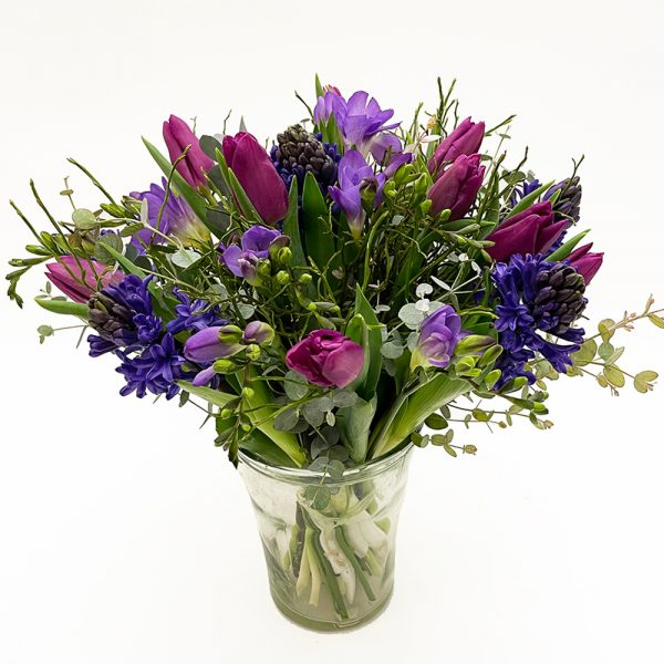 Arioso Happy Spring Bouquet - Purple