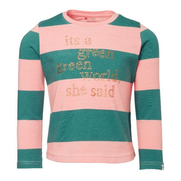 Auryn Noppies - Girls Long Sleeve Shirt Limestone