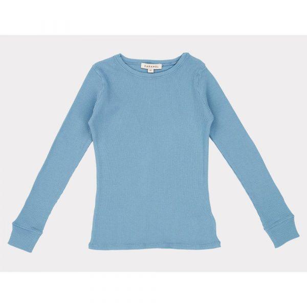 Caramel Flycatcher T-Shirt Blue