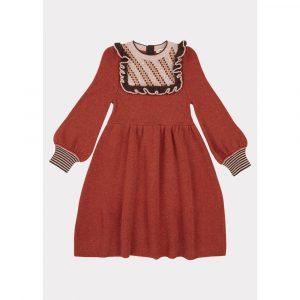 Caramel Nightingale Dress Cinnamon