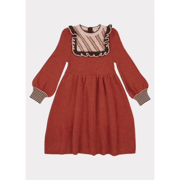 Caramel Nightingale Dress Cinnamon