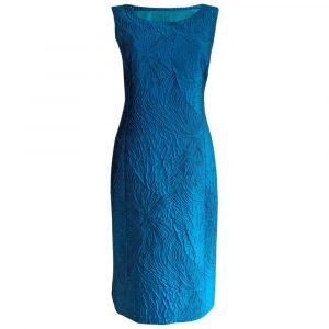 Caroline Charles Cloque Ocean Dress
