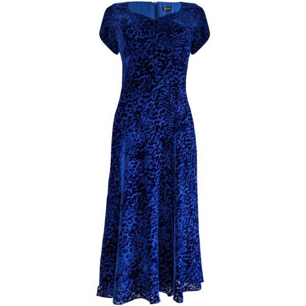 Caroline Charles Henrietta Devore Dress