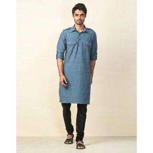 Fabindia Cotton Regular Pathani Kurta