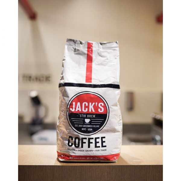 Jack's Stir Brew Coffee 5 Pound Organic Shade-Grown Coffee