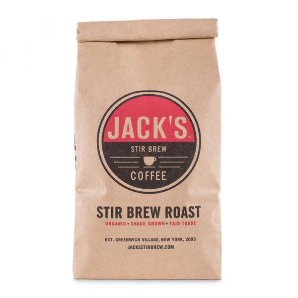 Jack's Stir Brew Coffee Organic Shade-Grown Coffee 1 pound