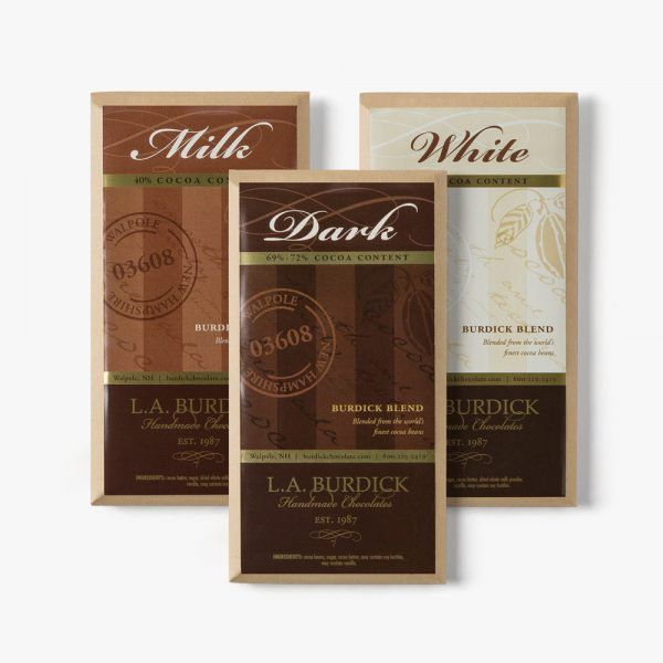 L.A. Burdick Handmade Chocolates Assorted Chocolate Bars