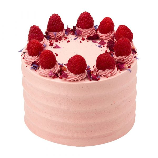 Peggy Porschen Cakes Lemon, Raspberry & Rose Cake