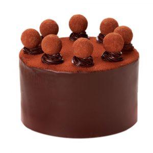 Peggy Porschen Dark Chocolate Truffle Cake