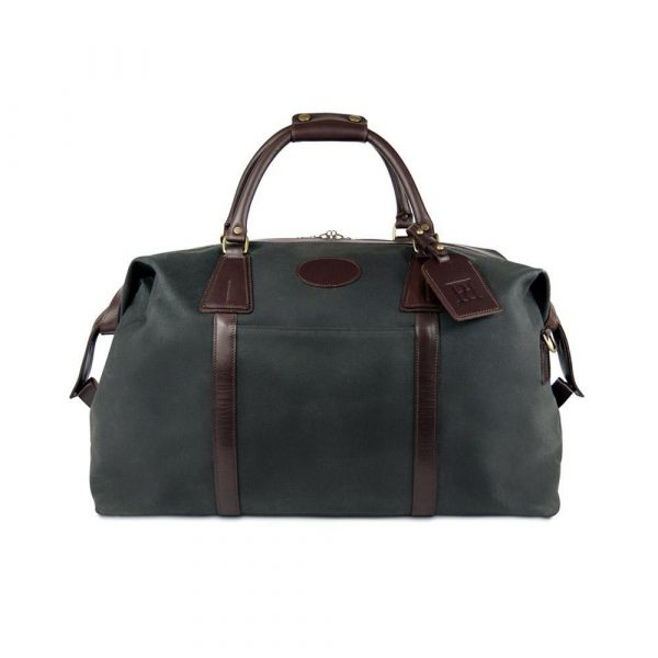 Pickett London Carry On Waxed Canvas Holdall