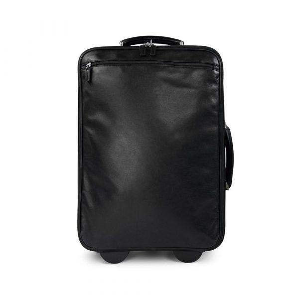 Pickett London Contrast Stitch Wheeled Suitcase