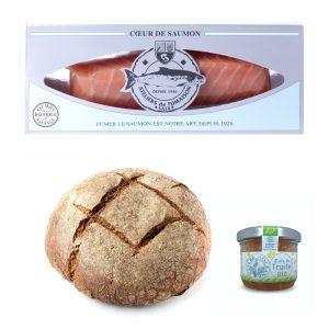 Poilane Bakery Salmon Heart And Rye Bread Box