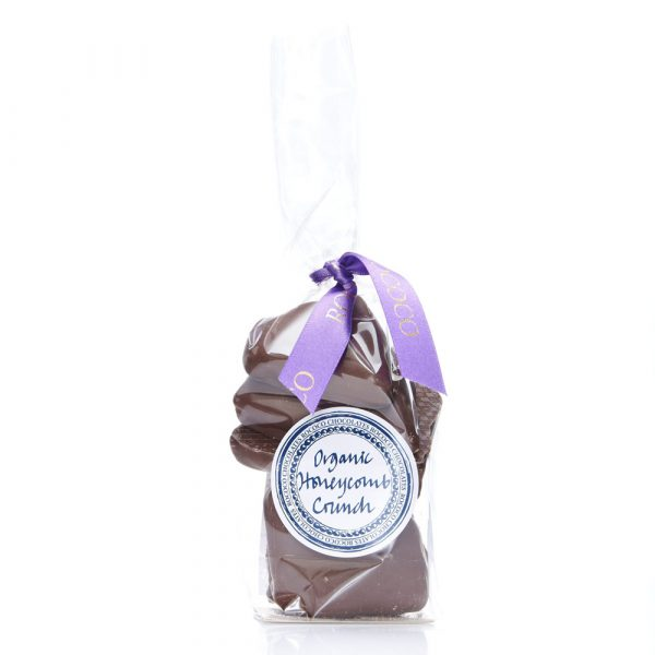 Rococo Chocolates Organic Milk Chocolate Honeycomb Crunch