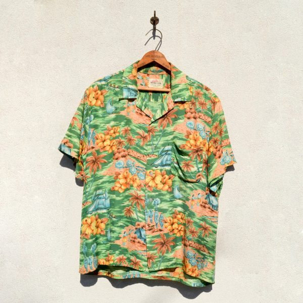 Rugged Road & Co. Mona Loa - Rayon Hawaiian Shirts