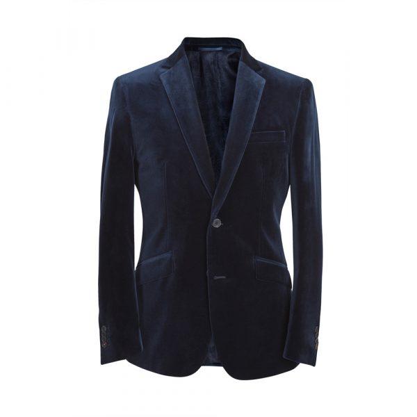 Simon Carter Classic Ultra Blue Velvet Jacket