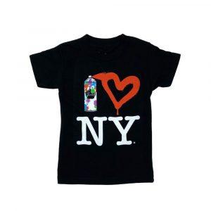 Smoochie Baby Spray Paint Heart NY Tee