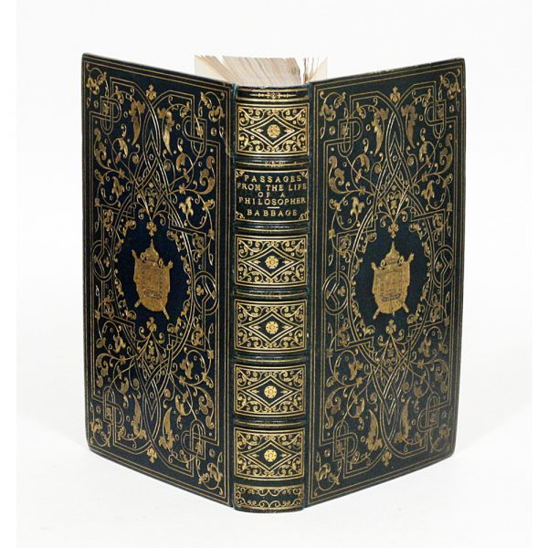 The Manhattan Rare Book Company Babbage, Charles. Passages From The Life Of A Philosopher